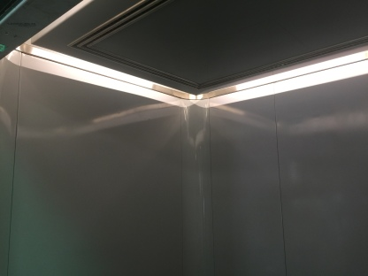 Cab Ceiling Remodeled
