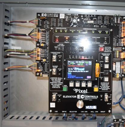 New EC Pixel Controller